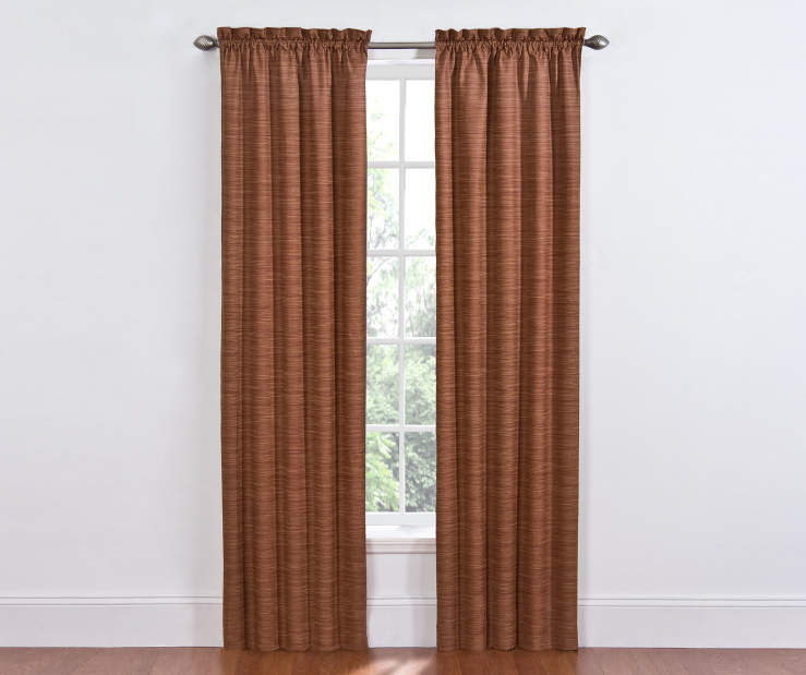 Spice Dewey Blackout Curtains 84 Inch on Window Room View