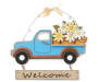 Spring Truck Wood and Metal Wall Décor Silo Front
