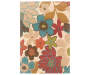 Springdale Ivory Area Rug 3 Feet 10 Inches by 5 Feet 5 Inches Overhead View Silo Image