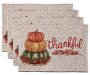 Stacked Pumpkin Placemats 4 Pack silo front