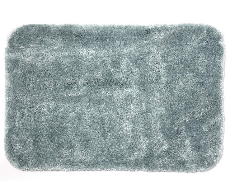 Aprima Stone Blue Bath Rugs