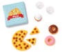 Style Girls BFF Pizza and Snack Party 9 Piece Doll Set silo front