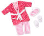 Style Girls Pink Pajama Doll Outfit silo front