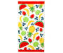 Summer Fruits Beach Towel 30 inches x 60 inches silo front
