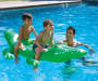 Summer Waves Alligator Ride-On for 2 w/ 4 handles