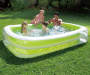 "Summer Waves Deluxe Family Pool 103"" Rectangular 2-tier"