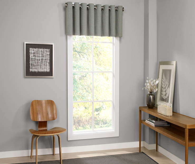 Sundown Atticus Blackout Grommet Window Valance