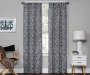Sundown Bryon Thermaweave Blackout Window Curtain