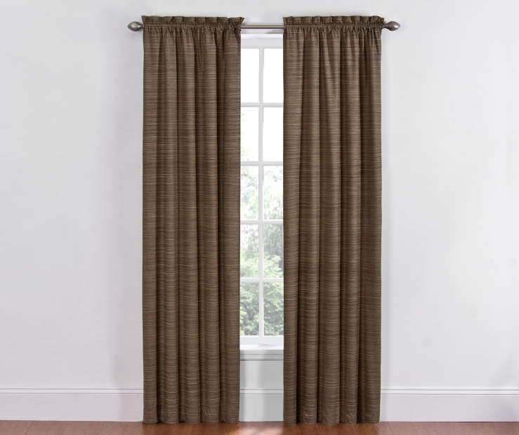 light textured pattern adds depth and dimension to these already stunning curtains for a truly dazzling display - Thermal Curtains