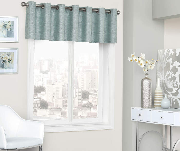 Sundown Roscoe Blackout Grommet Window Curtain Valance