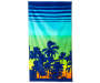 Sunset Palms Beach Towel 34 inches x 64 inches silo front