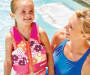 SwimSchool Small Flower Swim Vest lifestyle