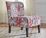 TRIPTIS FLORAL MULTI ACCENT CHAIR