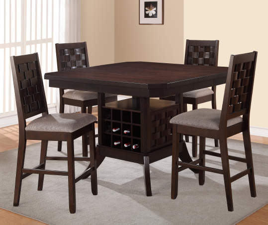 Table Base with Wine Rack | Big Lots