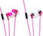 Talktunes Pink Stereo Earbuds 4-Pack Silo
