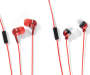 Talktunes Red Stereo Earbuds 4-Pack Silo