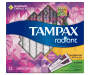 Tampax Radiant DuoPack (Regular and Super) Plastic Tampons, Unscented, 32 Count