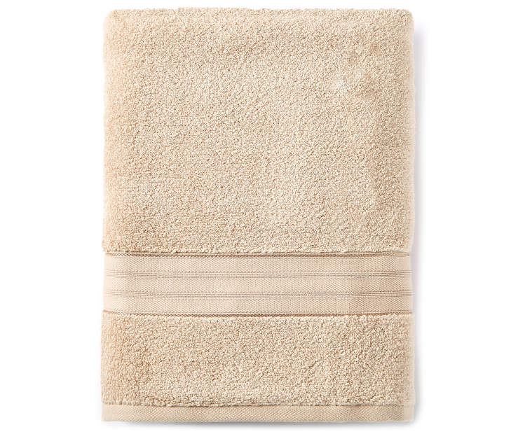 Tan Bath Towel silo front