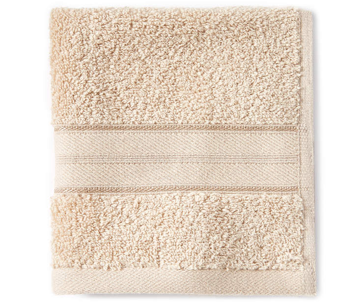 Tan Wash Cloth silo front
