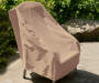 "Taupe Outdoor Patio Chair Cover, (33"")"
