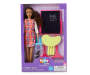 Teacher Brunette Career Fashion Doll silo front