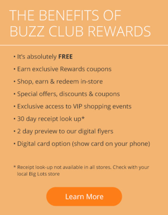 The benefits of Buzz Club Rewards
