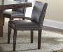 Tiffany Gray Dining Chairs 2 Pack Lifestyle