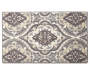 Timeless Medallions Gray and Cream Accent Rug 1 feet 8 inch x 2 feet 10 inch silo front