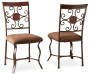 Toledo Dining Chairs 2 Pack Silo Angled