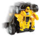 Toy RC Robot Jr - Yellow Matte Black Silo Action View