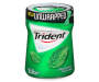 Trident Unwrapped Spearmint Sugar Free Gum with Xylitol 50 ct Pack
