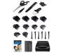Trim Expert 25 Piece Hair Clipper Kit silo front with pieces