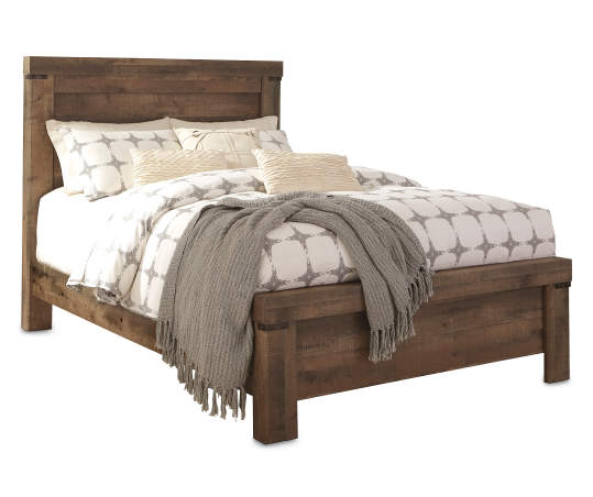 Signature Design By Ashley Trinell, Big Lots Queen Platform Bed Frame