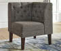 Tripton Upholstered Graphite Gray Corner Bench lifestyle