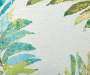 Tropical Lucia Green Outdoor Throw Pillow 24in x 24in swatch