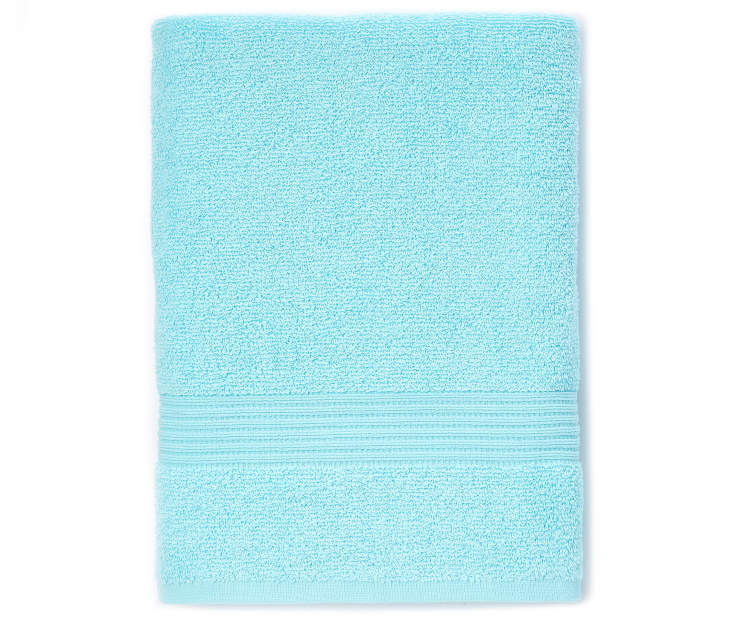 Turquoise Bath Towel silo front
