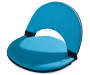 Turquoise Foldable Lounge Chairs 2 Pack silo front