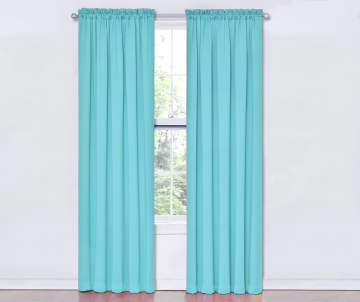 Non Combo Product Selling Price 150 Original List 1500 Sundown Turquoise Room Darkening Curtain