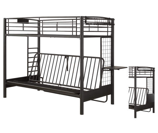 Just Home Twin Futon Bunk Bed Big Lots