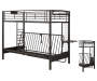 Twin Futon Bunk Bed Frame Silo Image