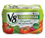 V8 Low Sodium 100% Vegetable Juice, 11.5 oz. Can (Pack of 6)