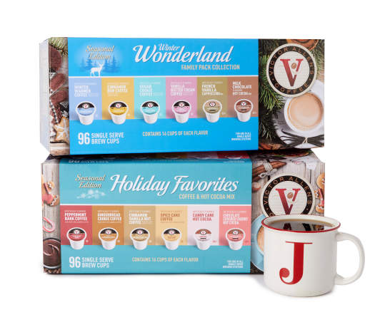 Winter Wonderland Family Collection 96-Pack Single Serve Brew Cups