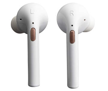 0c95eafcbc8 Vivitar True Wireless White & Rose Gold Earbuds with Charging Case | Big  Lots