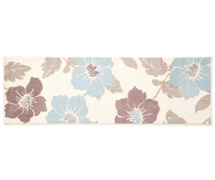 Valyn Flowers Linen Accent Runner 1 feet 8 inch x 5 feet silo front