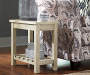Veldar Whitewashed End Table lifestyle