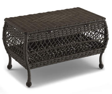 Wilson Fisher Westwood All Weather Wicker Storage Coffee Table