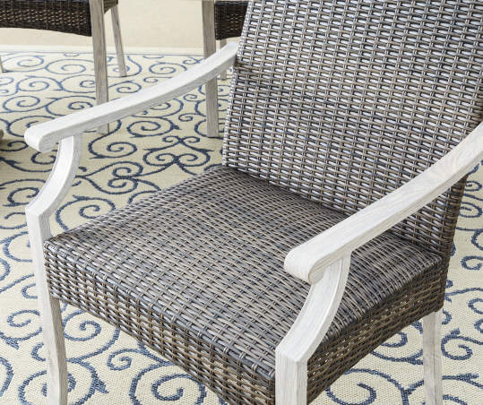 Weather Wicker Dining Chairs