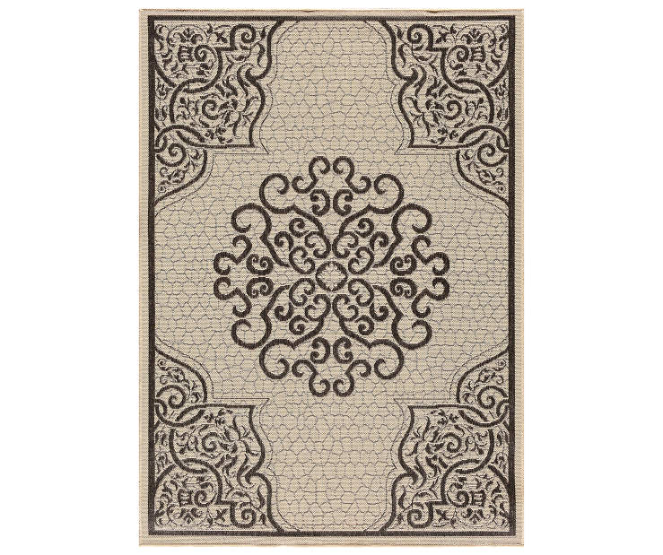 WILSON FISHER PATIO RUG OAKMONT  5X7
