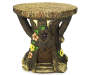 WOOD LOOK GARDEN STUMP STOOL