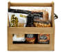 WOODEN BEER CRATE/CARRIER 16.25 OZ